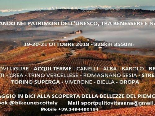 Pedalando nei Patrimoni UNESCO del Piemonte