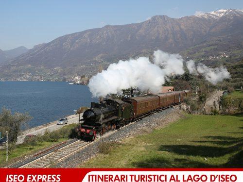 Iseo Express: itinerari turistici al lago d'Iseo