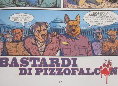 """I bastardi di Pizzofalcone"" illustrati da Fabiana Fiengo"
