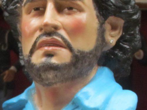 Maradona e la sua edicola votiva a Napoli